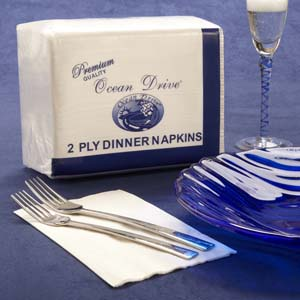 2-ply dinner napkins