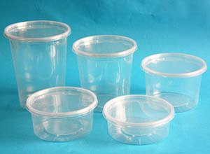 Deli Containers - deli cup and lid