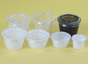 Deli Containers - portion cup and lid