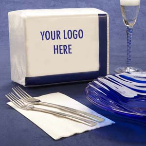 private label dinner napkins